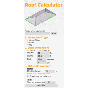 Applicad Announces Availability Of Free Roof Calculator