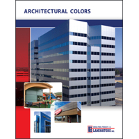 Laminators Inc Releases New Architectural Color Chart