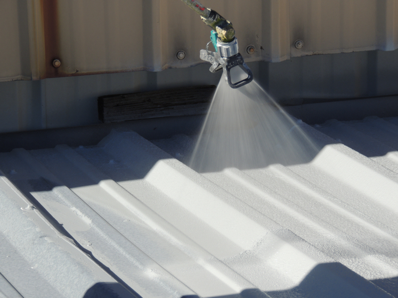 Industrial Strength Roof Coating Systems Offer Longer Life For Aging Metal  Roofs