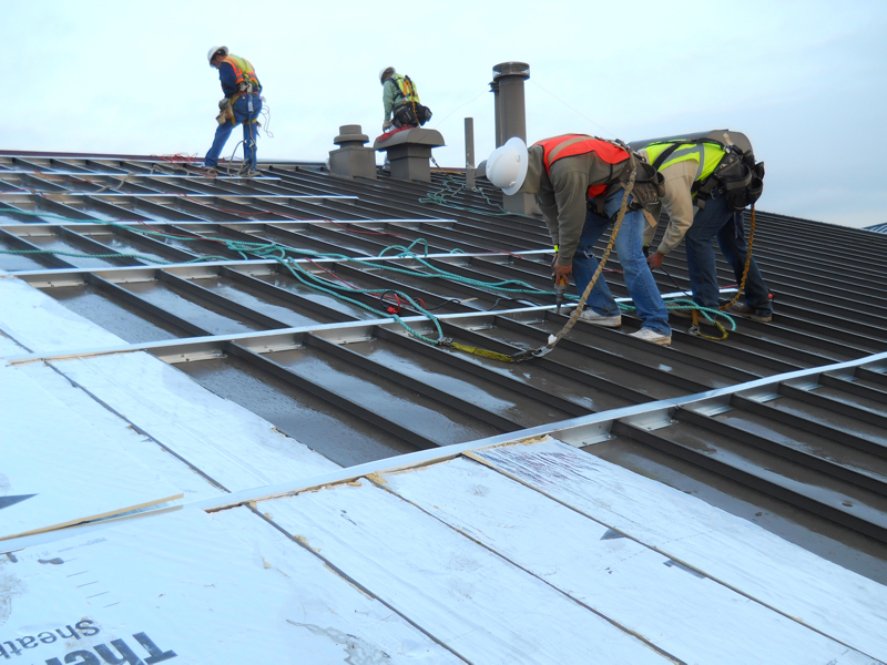 Department Of Defense Eyeing Retrofit Metal Roofing For