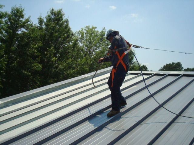 Roof Recoating Offers An Alternative To Metal Roof Replacement