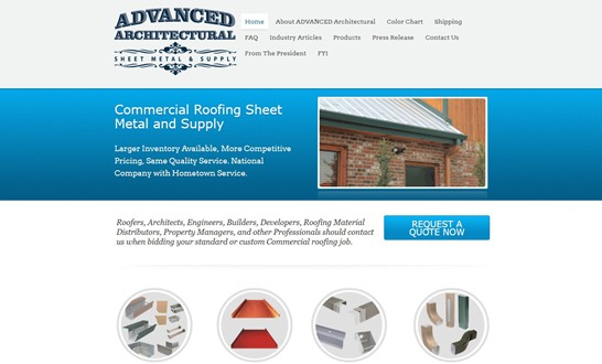 advanced-architectural-website