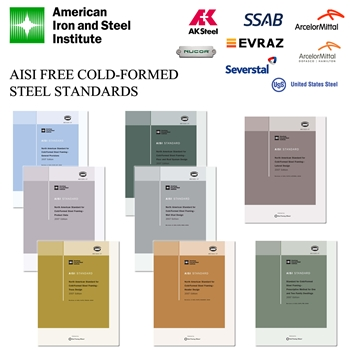 Aisi Cold Formed Steel Standards Offered As Free Downloads
