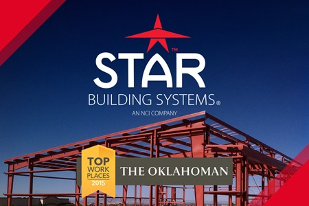 Star Building Systems Named One Of Oklahoma S Top Workplaces