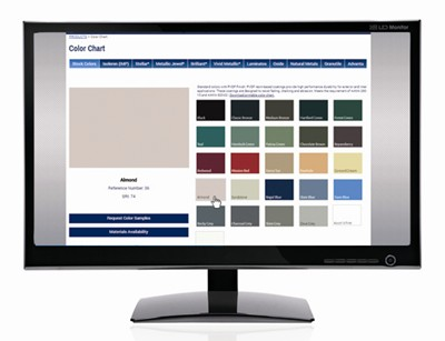 Atas Rolls Out Interactive Online Color Chart For Metal Roofing