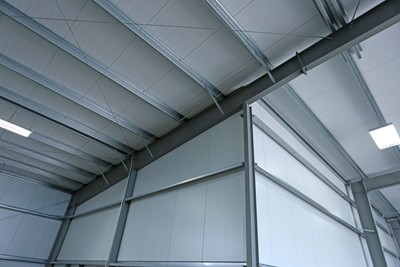 Green span profiles expands insulated metal panel manufacturing facility single component installation provides an extremely well insulated and finished interior space publicscrutiny Images