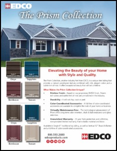 Prism Collection Steel Siding Introduced By Edco Products