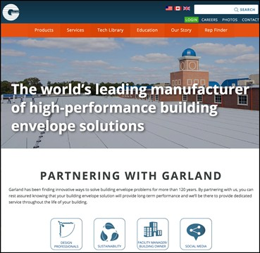 garland-website
