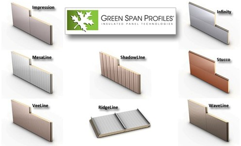 Green span profiles earns florida approval for insulated metal wall and roof panel systems for Florida building code interior walls