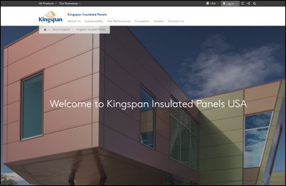 Kingspan-website