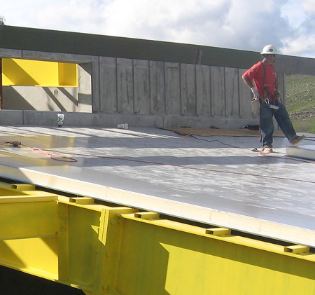 AWIP Introduces OneDek™ Insulated Deck Panel For Low-Slope ...