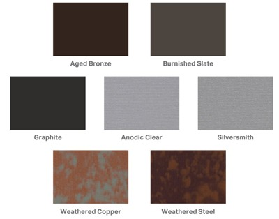 Seven New Pac Clad Colors Enhance Design Options For Metal