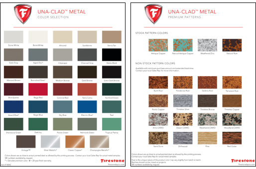 Firestone Expands Metal Palette To Include Seven New Colors