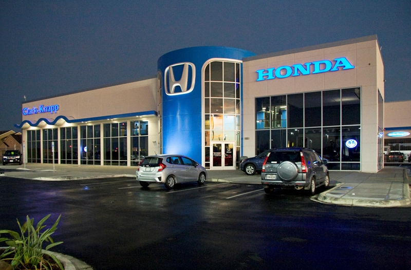 Metal construction projects case histories design and for Honda car dealer