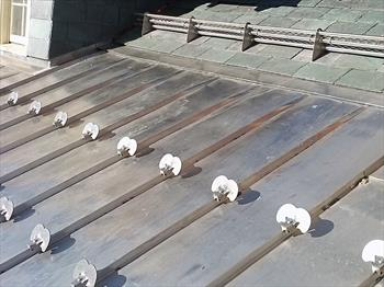 Goldwin Smith Hall Reroof. Alpine SnowGuards ...
