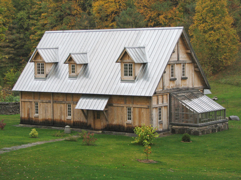Metal Roof Suppliers Vermont Timber Frame Vermont Farm