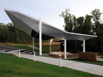 Arrendale Amphitheater At Piedmont College & Canopies Design Solutions | Design and Build With Metal