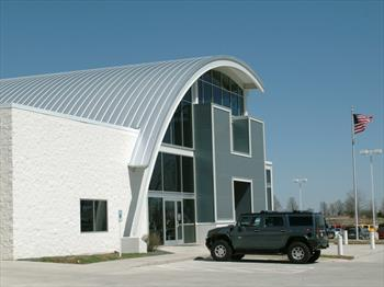 Curved Wall And Roof Elements Design Solutions Design And Build With Metal